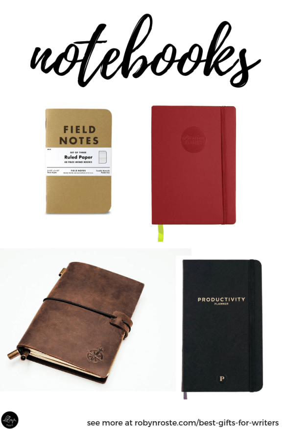 Best gifts for writers. I've pulled some of the cooler writing notebooks from the Internet. Although everyone uses computers, many writers prefer pen and paper for staying organized. I even know writers who write their novels by hand!