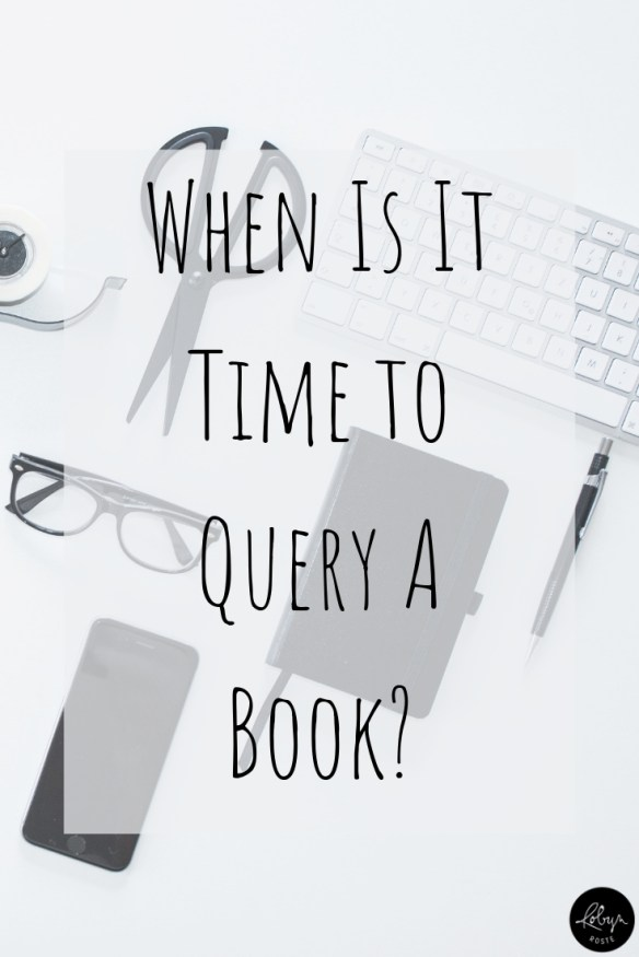 On this long and winding road called the publishing journey there's the question of when to query a book. The answer is changes for fiction and non-fiction.