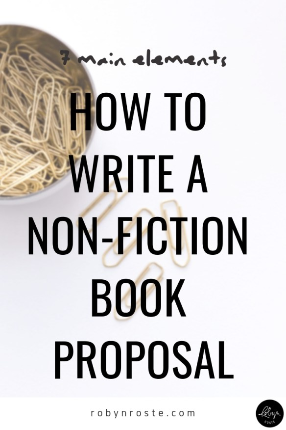 There are many ways to put together a proposal but here is what I've learned about how to write a non-fiction book proposal in the past few months.