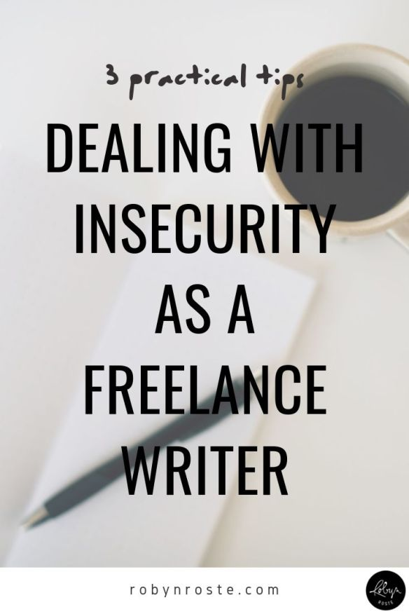 Whether it's inferiority complex or a lack of confidence, dealing with insecurity as a freelance writer is no joke. Also: you're normal.