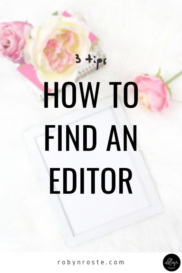 If you're a writer wondering how to find an editor I'm here to tell you, you're not alone. This is one of the most common questions I receive!