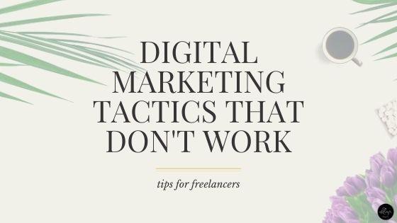 5 Popular Digital Marketing Tactics You Should Retire Immediately