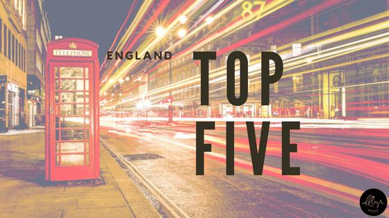 England Top Five