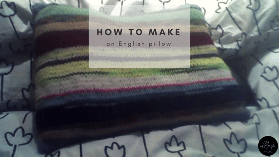 How to Make an English Pillow
