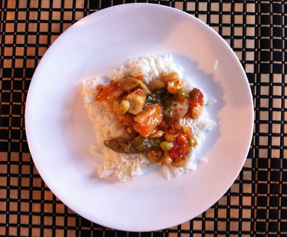 Thai chicken chili