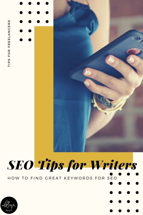 Most freelance writers spend time researching different topics online, which is good news because finding keywords involves the same skill: research. And, in fact, there's a good chance you're doing keyword research as part of your regular workflow.   Brainstorming writing ideas, building content calendars or working on branding all involve some aspect of SEO.  This can be as simple or complex as you make it. I like to keep things simple.