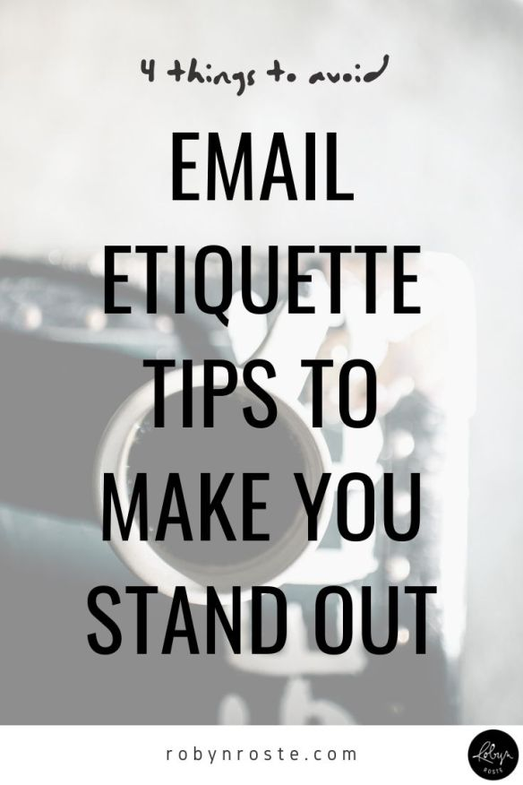 As positive as email is, it's important to understand proper email etiquette in order to avoid business pitfalls. There can be unintended consequences when we let the rules slide.