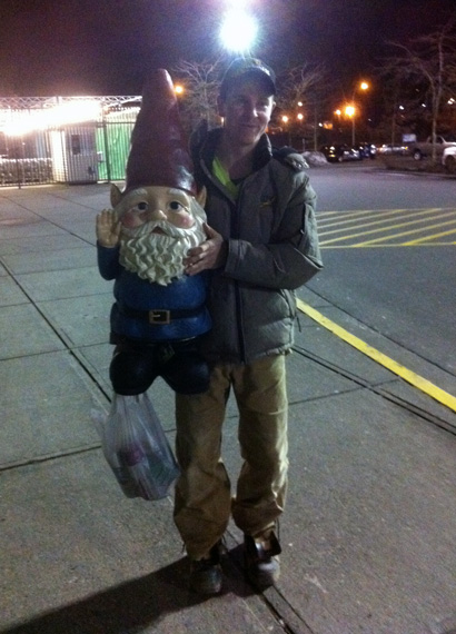 Gnome sighting
