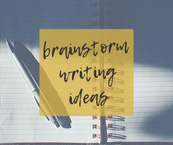 This is a little exercise I picked up over the years and since making it work for me I have never sat down wondering what to write.  Writing is no longer a terrifying experience but something I look forward to and find pleasure in. I hope my brainstorm ideas and/or method helps you.