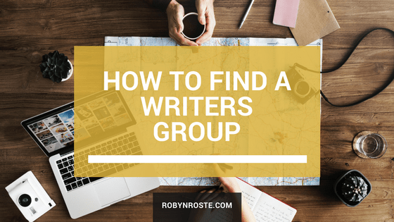 how to find a writers group