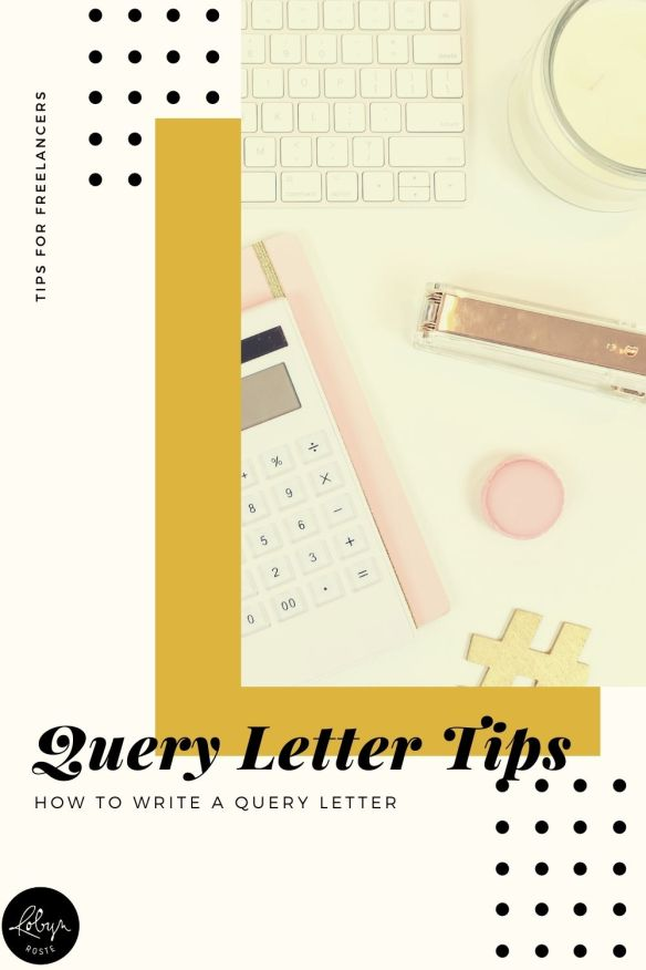 My writing life focuses heavier on pitching articles than querying agents but I get asked how to write a query letter more than you'd think.