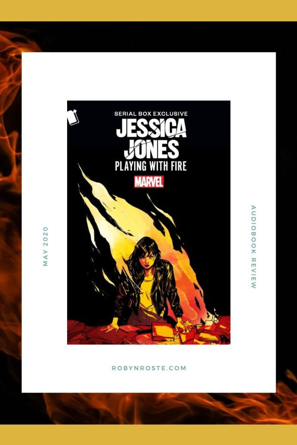 On May 28 Marvel's Jessica Jones Playing with Fire launched on Serial Box in immersive e-book and audiobook formats.  In Playing with Fire, private investigator Jessica Jones is giving self-care a try. She's trying to live a healthier lifestyle (as in, no drinking during business hours, trying not to punch things, etc.) and she's even trying to take less exciting cases to take care of herself.  But when her latest missing person's case seems too neat and tidy, Jessica can't accept it or let it go. This sends her diving headlong into a search for answers.