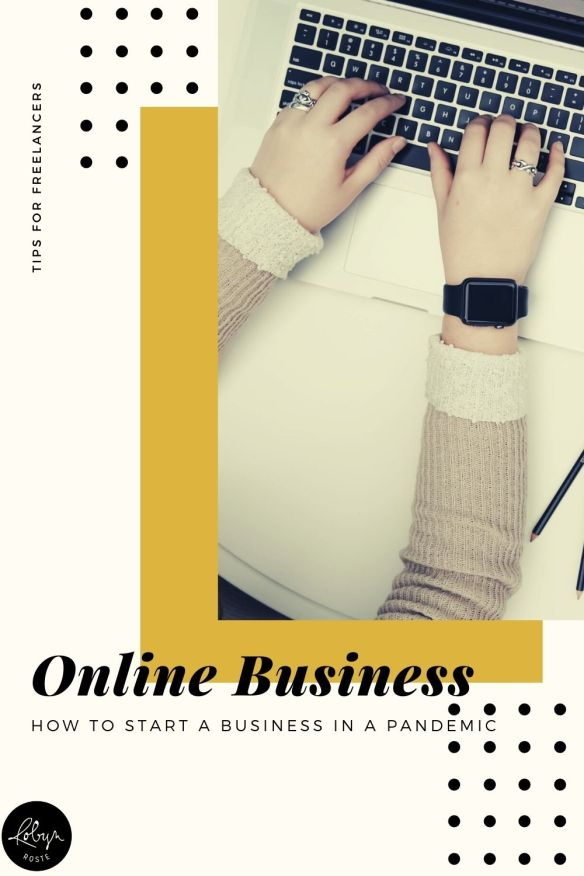 During the pandemic it may have crossed your mind that it's time to start an online business. Or podcast. Or YouTube channel. Etc.  If you're wondering how to start a successful online business and make the most of your extra at-home time during this pandemic, I hope these tips will help.