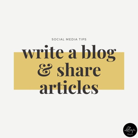 Promote your writing idea 1. You can write a blog and share individual articles on social media as they publish.