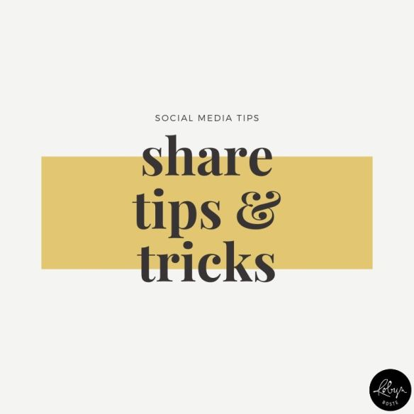 Promote your writing idea 2.  What's your area of expertise? Create tips and tricks to help your followers improve in that area and post about them on social media.
