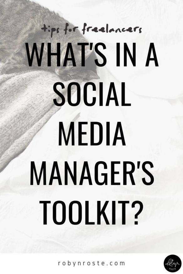 I heard of the social media manager title years ago, but never considered I would or could be one. I figured it was for someone else, someone who went to school for new media or social media management (things that didn't exist when I did my bachelor of journalism). But then my LinkedIn job suggestions started getting…obvious.