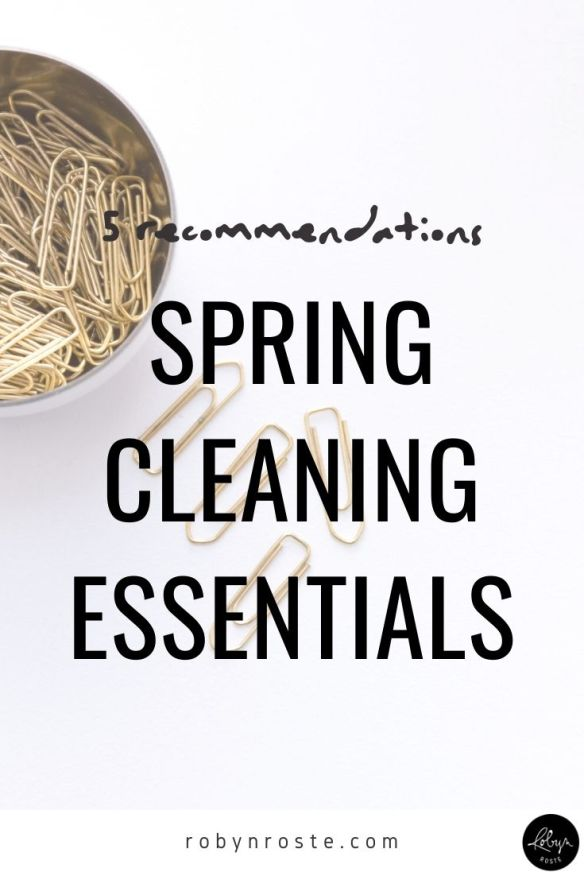 Here are my spring cleaning essentials for the busy person who has better things to do but still really really really wants to spring clean.