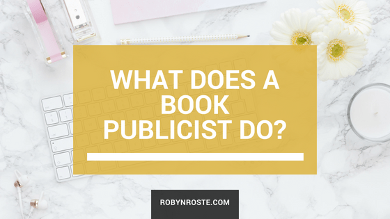 what does a book publicist do
