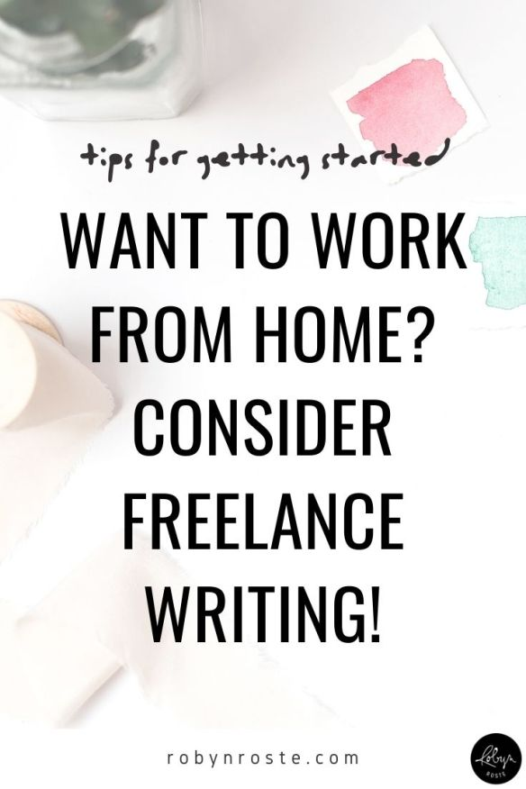 If you want to work from home as a writer you may be feeling at a loss for how to get started. I get it. I felt the same way back when I began freelancing.  While I have tons of advice for building your client roster and positoning yourself as a freelancer, today I'm going to focus on my BEST tip for getting started fast.