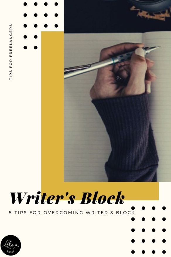 Got that dreaded writer's block? Most writers share a passion for the craft but it's easy to get stuck, lose your words or become lost in a whirlwind of insecurity or even writer envy. Break free my friend! Read through the tips and prompts and take what you need in order to keep writing.