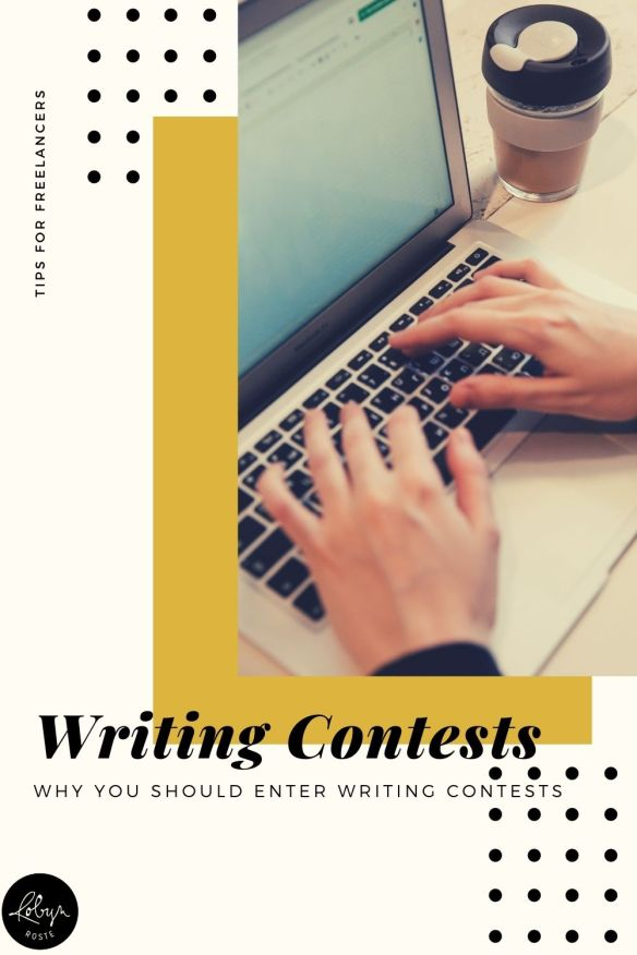 While you may not feel like you have time to be dallying around entering writing contests there are some good reasons to do so, like money and publication.