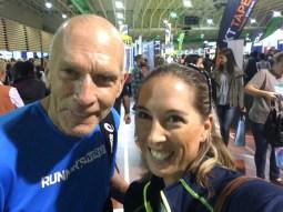 Look who I found! Richmond Marathon 2016