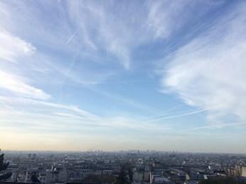 View of Paris from the Basilique Sacre Coeur