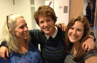 Robyn w/Speegz & Sarah at Tulane University