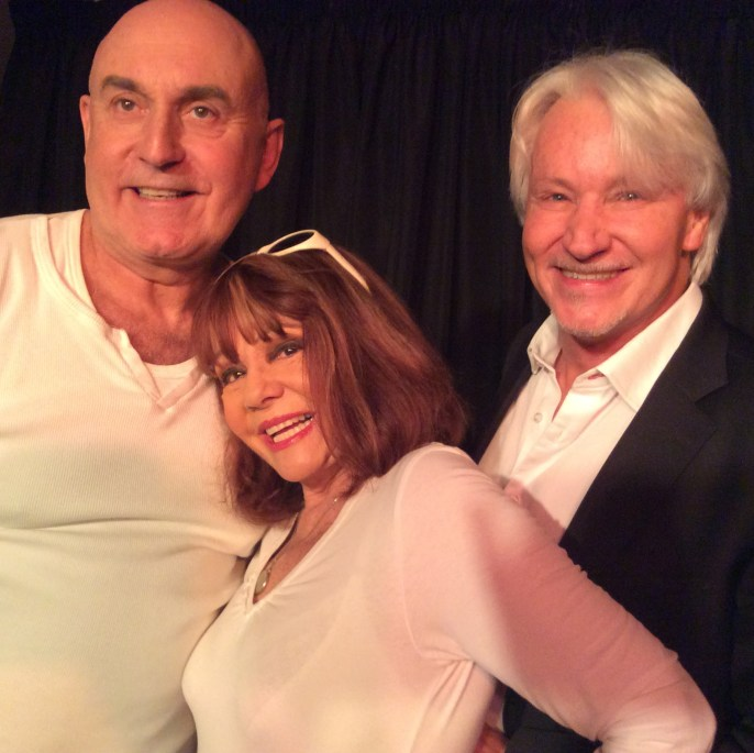 Never can say goodbyeMichael de Pinna, Annabel Linder and Keith Smith. Photograph courtesy Foxwood Theatre.