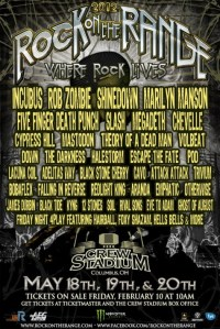 Rock on the Range 2012