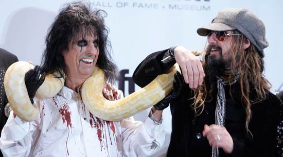 Rob Zombie Alice Cooper Who is your favorite Rob Zombie tour headlining partner?