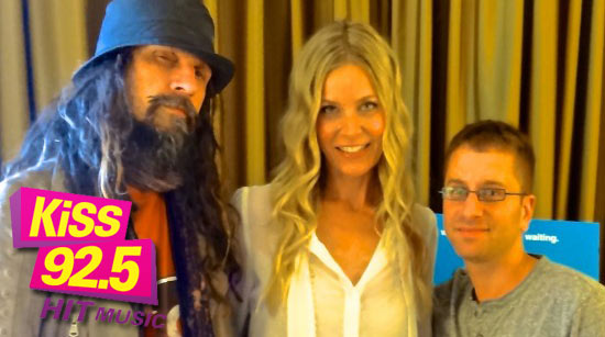 Rob and Sheri Moon Zombie speak to Kiss 92.5