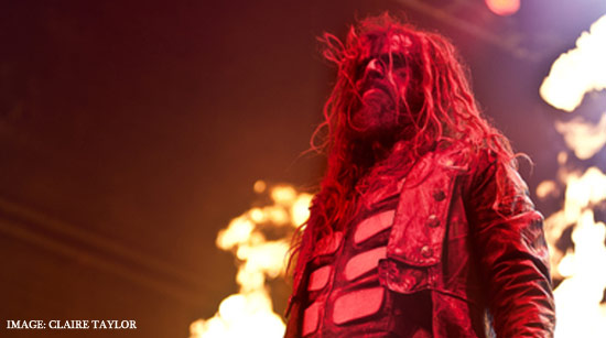 Rob Zombie image by Claire Taylor