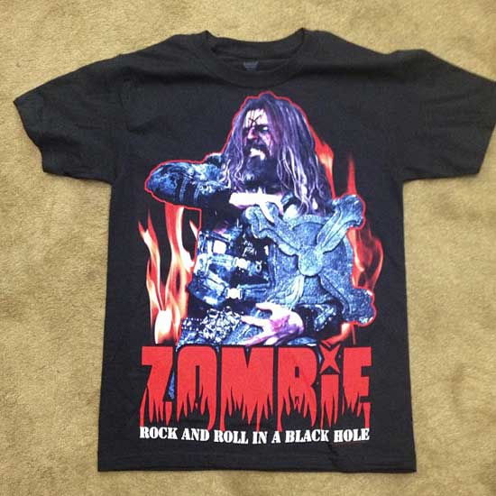 Rob Zombie shirt mayhem