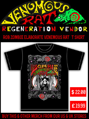Rob Zombie Elaborate Shirt Official Store