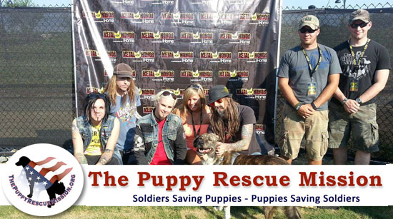 Rob Zombie Puppy Rescue Mission