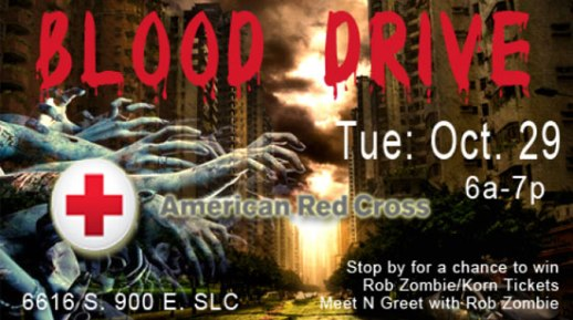 Donate blood with the American Red Cross on Oct 29 and get a