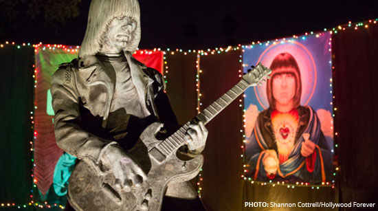 Johnny Ramone by Shannon Cottrell