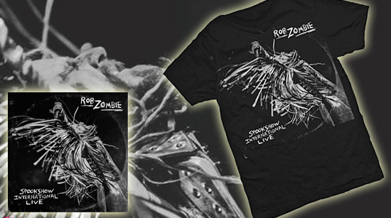 spookshow international live shirt bundle