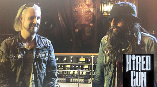 Rob Zombie John 5 Hired Gun