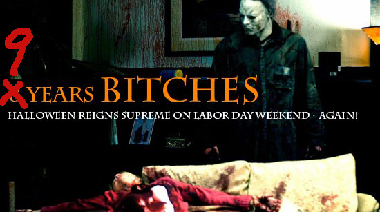 9 Years Labor Weekend Halloween Rob Zombie