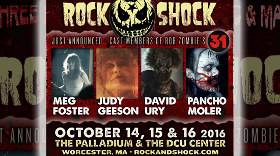 rock and shock 31 cast members