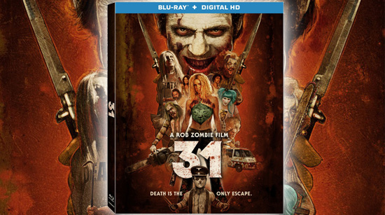 31 Blu-Ray cover