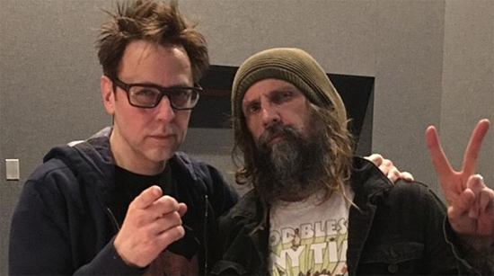 Rob Zombie James Gunn Guardians of the Galaxy 2