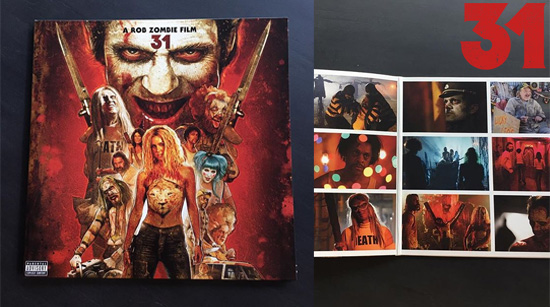 31 Rob Zombie soundtrack vinyl gatefold