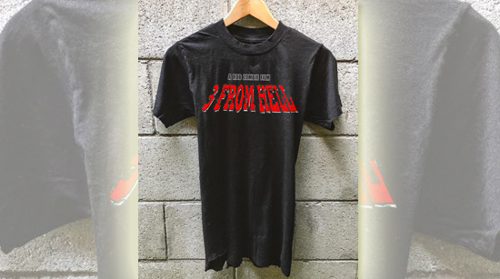 3 From Hell shirt Zomboogey