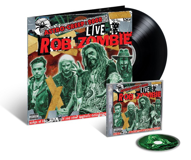 Rob Zombie Astro-Creep Live