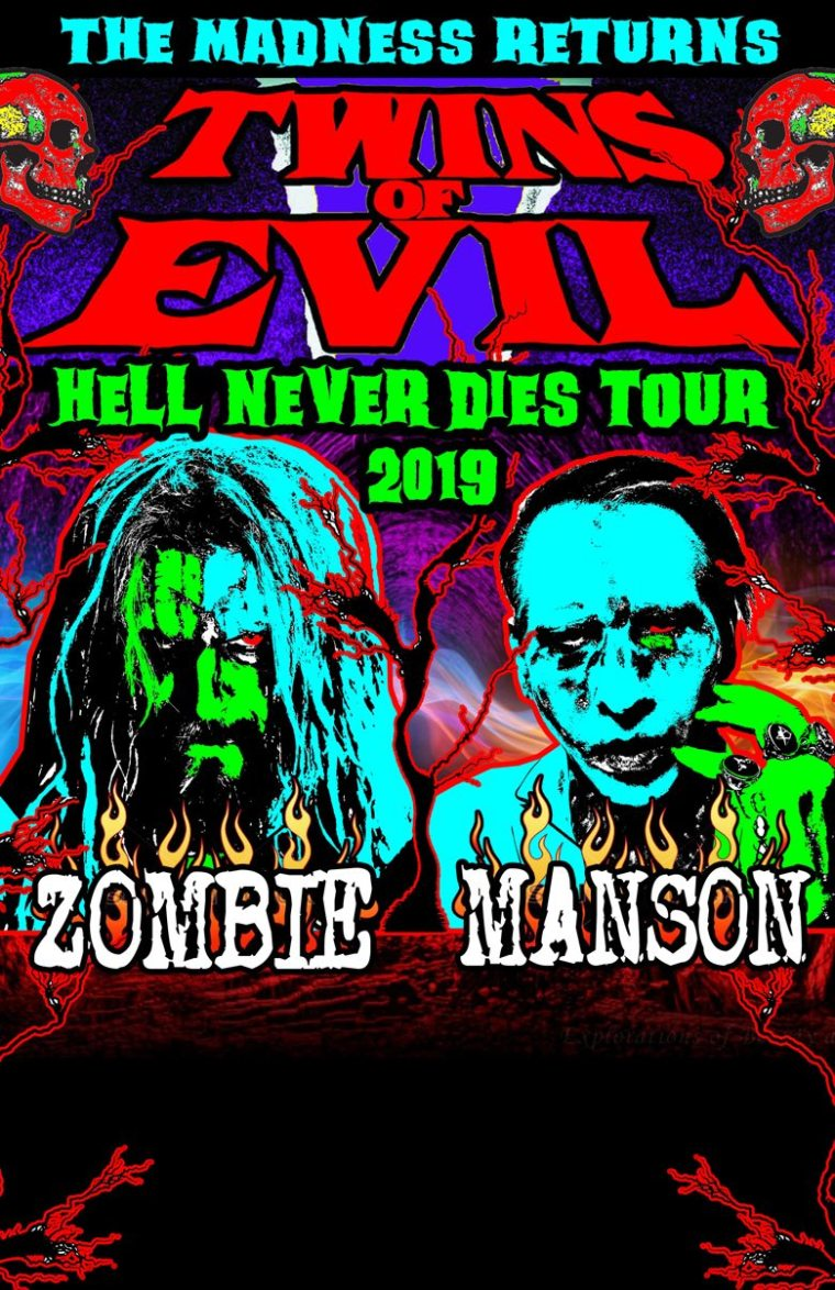 The Twins of Evil Hell Never Dies tour 2019