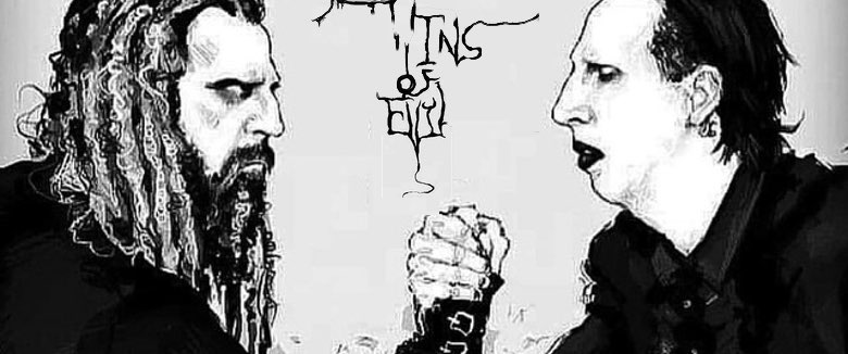 Twins of Evil fan art Marilyn Manson Rob Zombie
