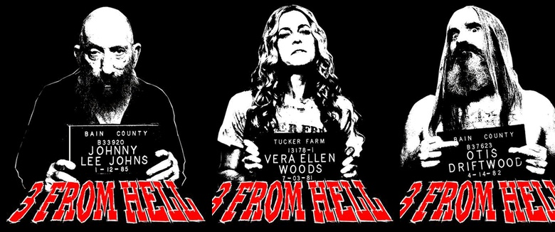 Rob Zombie HalloweenTown Three From Hell tee